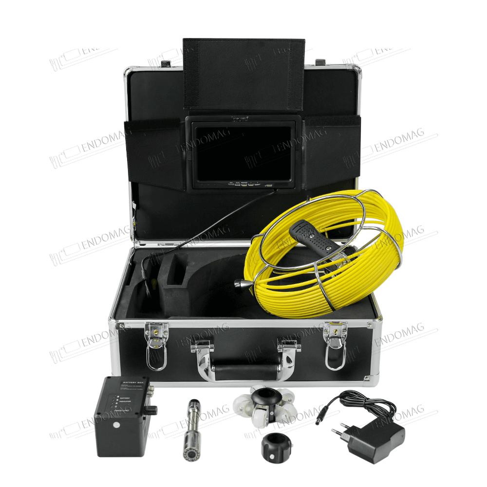 Технический промышленный видеоэндоскоп для инспекции труб Eyoyo WF92 для инспекции, 20 м, с записью